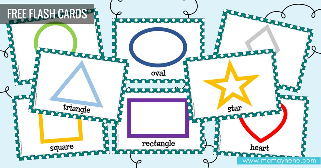 Free Flash cards: Shapes