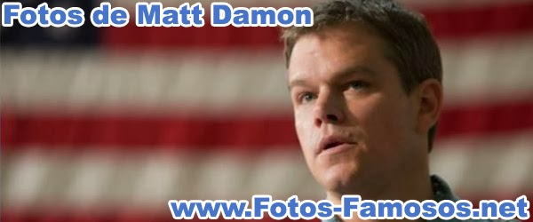 Fotos de Matt Damon