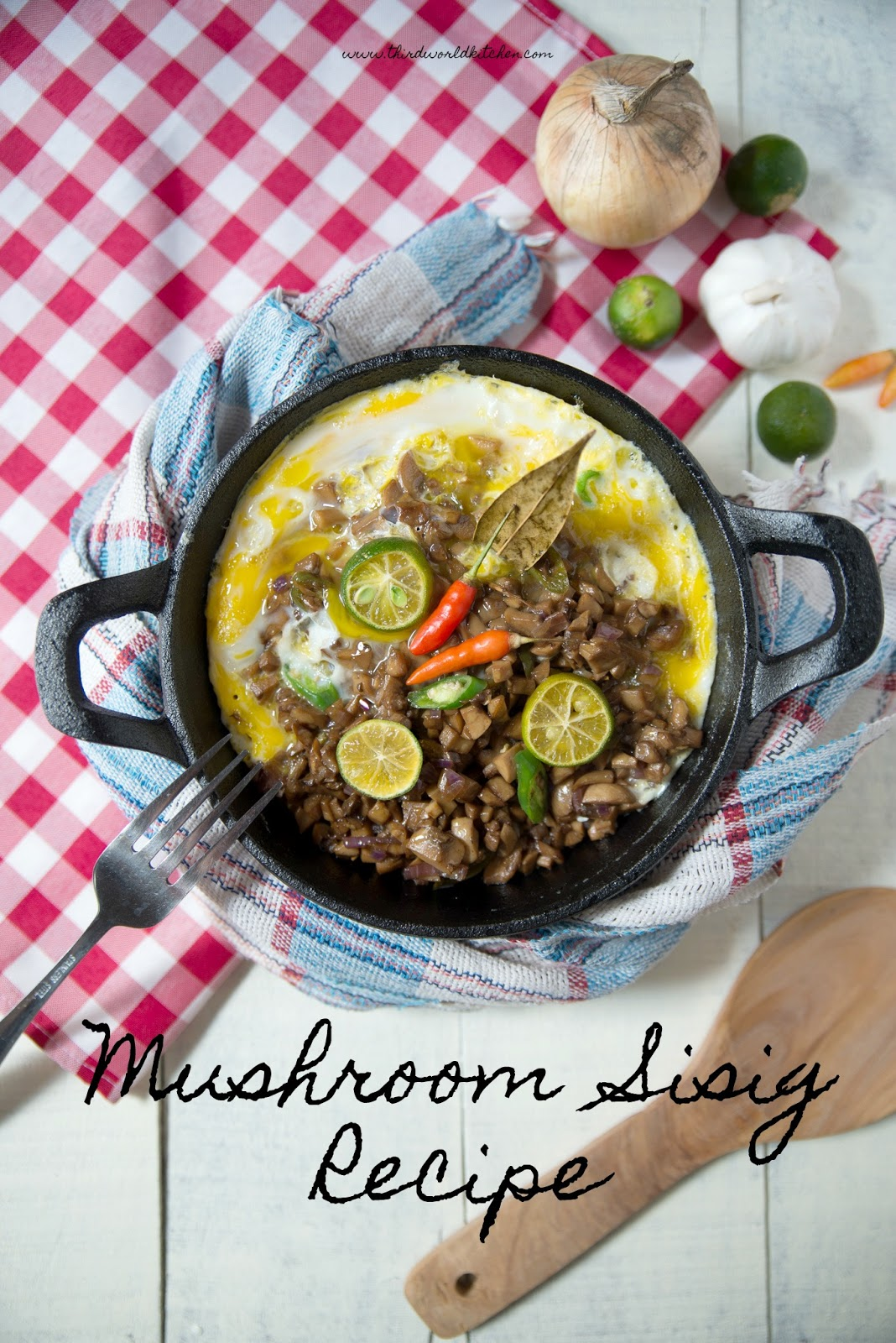 Mushroom Sisig Recipe - Mushroom Recipe
