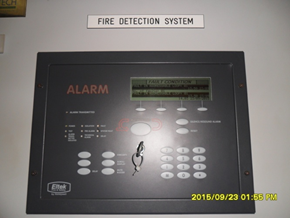 Display fire alarm