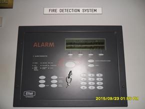 Display fire alarm