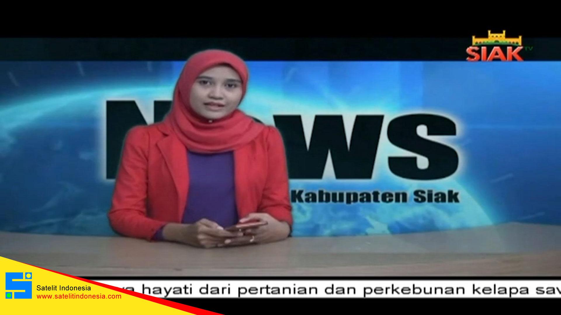 Frekuensi siaran Siak TV di satelit Telkom 4 Terbaru