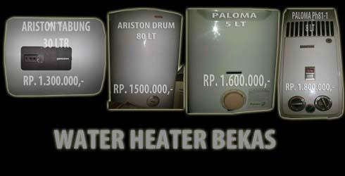 contoh gambar pemanas air atau water heater