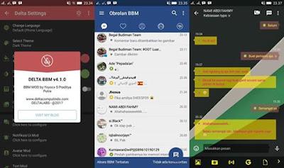 BBM Mod Delta v4.1.0 Base BBM V3.2.5.12 Apk