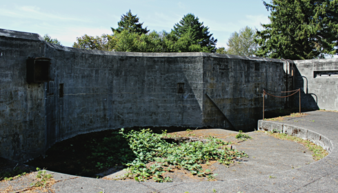 fort columbia state park battery washington coast