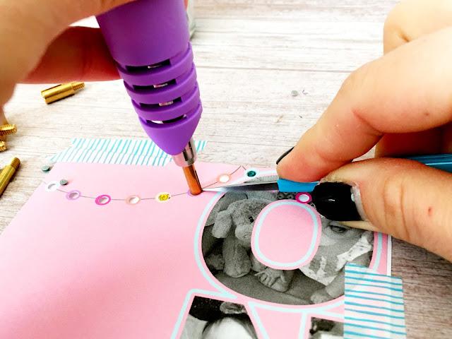 rhinestones to paper, applying rhinestones to paper, rhinestones on paper, rhinestones ribbon, rhinestones shoes