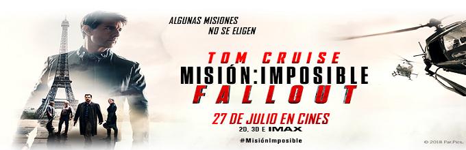 MISIÓN : IMPOSIBLE - FALLOUT [CINE] Algunas misiones no se eligen.
