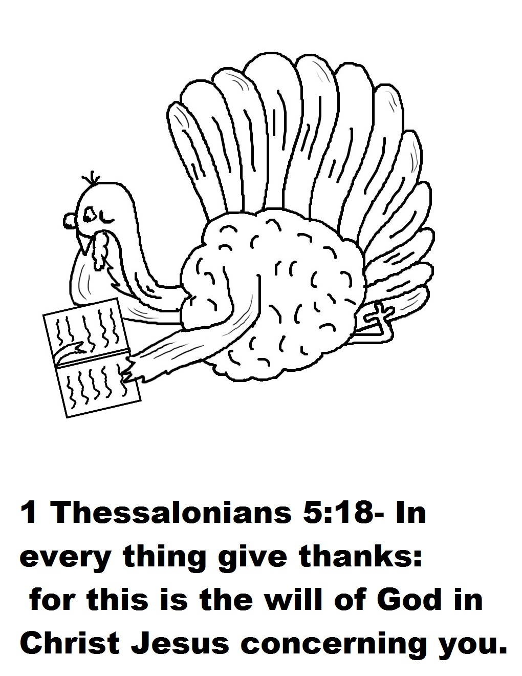 bible coloring pages thankfulness - photo#17
