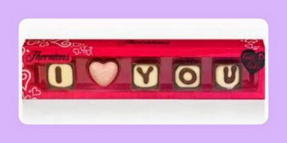 Thornton's valentines day chocolate