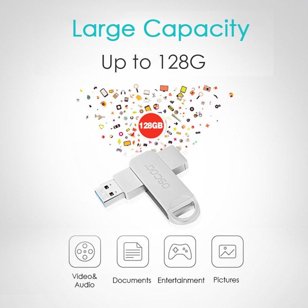 Oscoo Osc 002u Usb 3 0 16gb 32gb 64gb 128gb Usb Flash Drive High