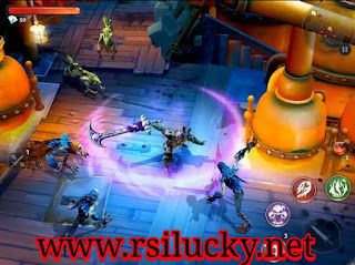 Dungeon Hunter 5 Apk Mod Rapid Attack + Infinite Mana