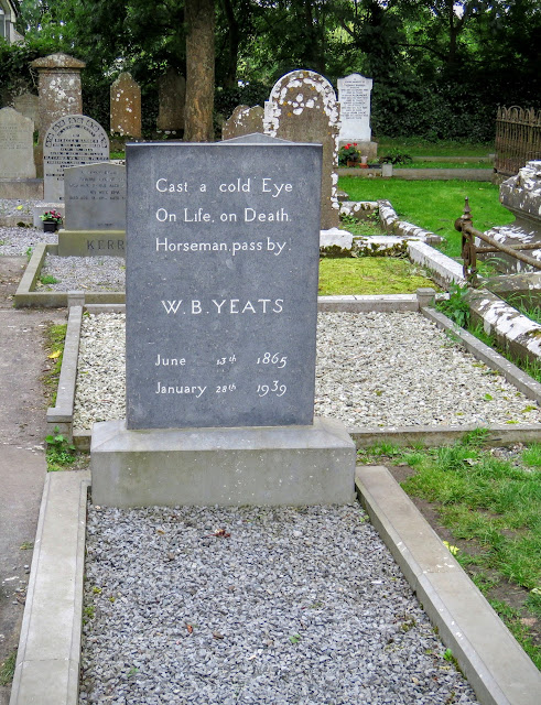 W.B. Yeats Grave at Drumcliff in County Sligo, Ireland
