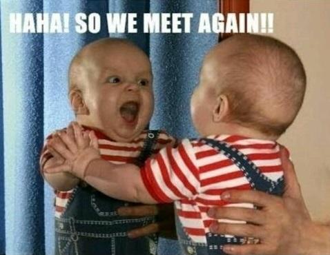 Funny Evil Baby Meme Joke Picture