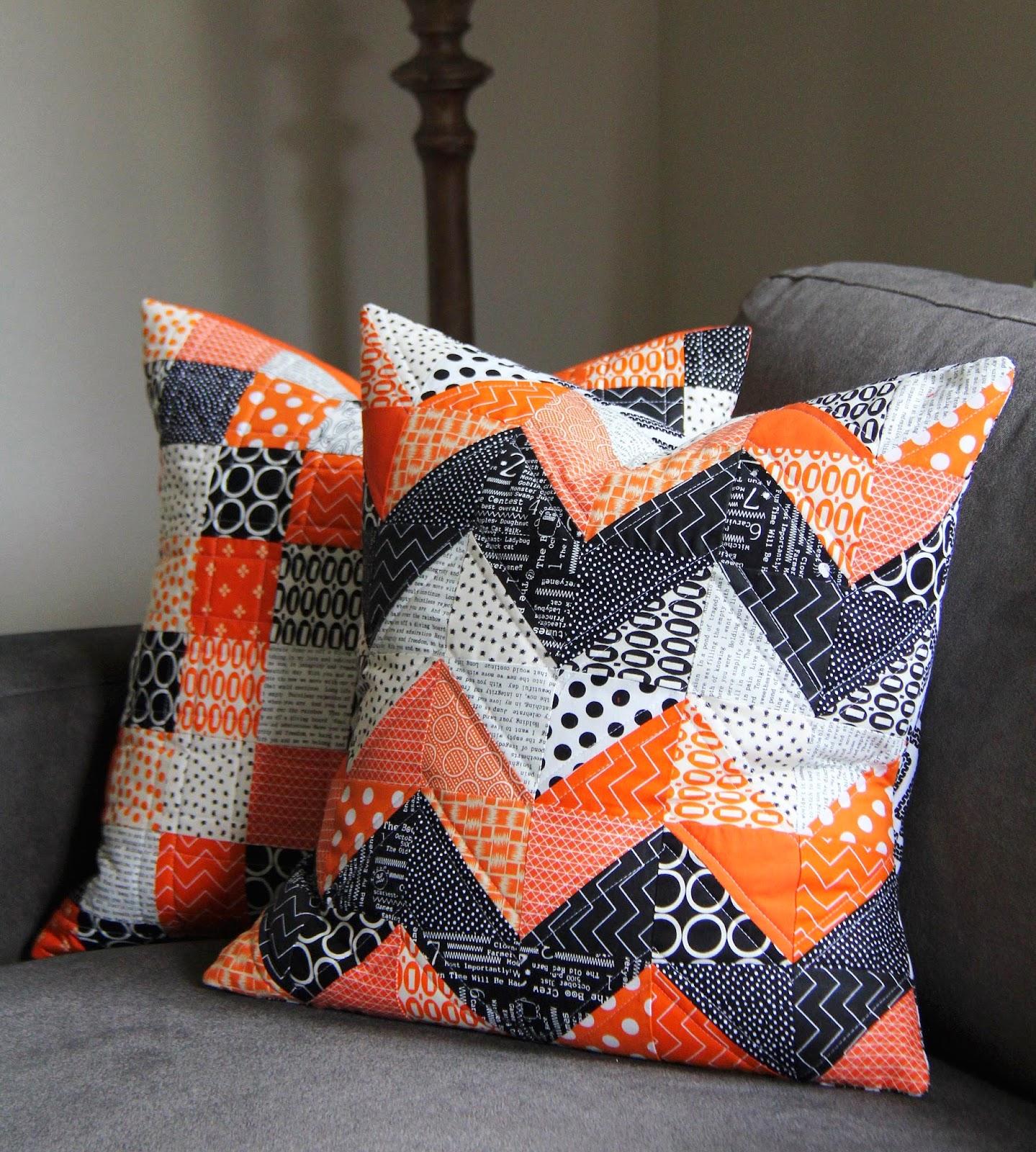 Cluck Cluck Sew: Orange + Black