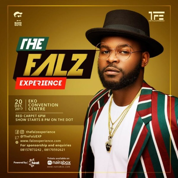 """The Falz Experience"" – Falz Announced First Ever Concert"