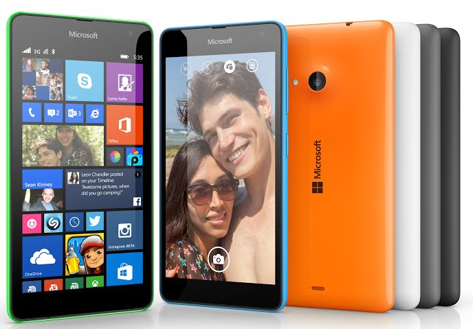 Lumia 535 Dual SIM, Lumia 735 officially launched in the Philippines
