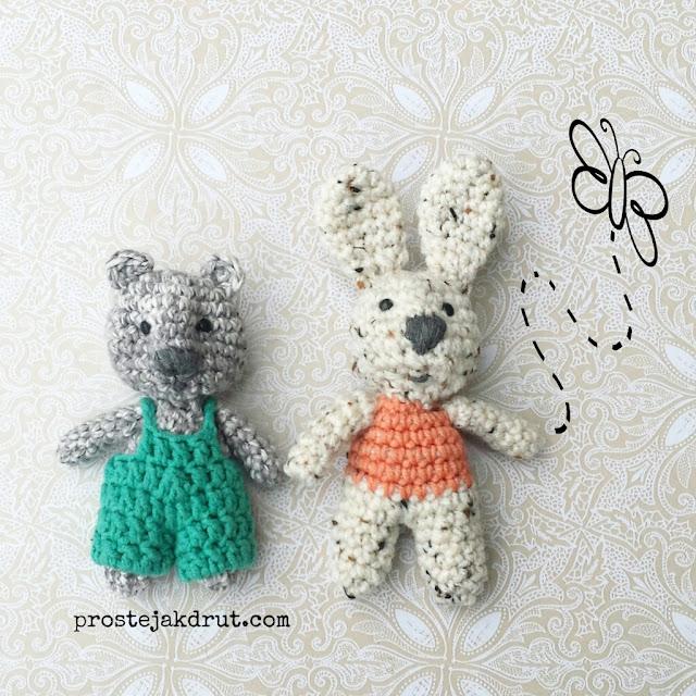Mały miś i królik