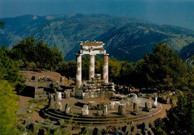 Tholos Atenea Pronaia Epidauro