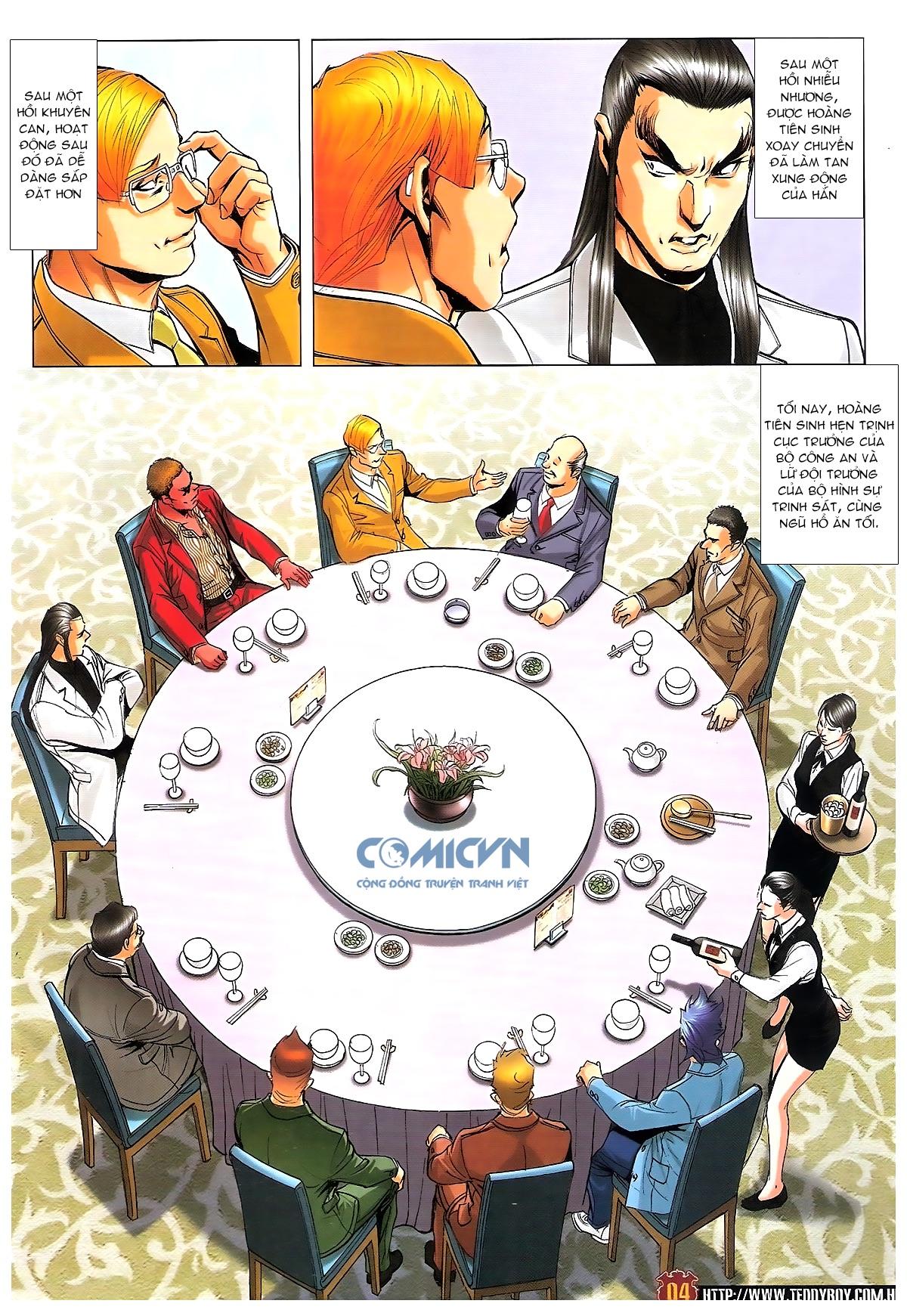 Người Trong Giang Hồ chapter 1815: tiêu diệt tam liên trang 3
