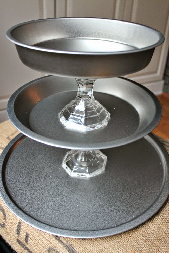 diy 3 tier wedding cake stand diy dollar tree three tier tray tutorial southern 13603