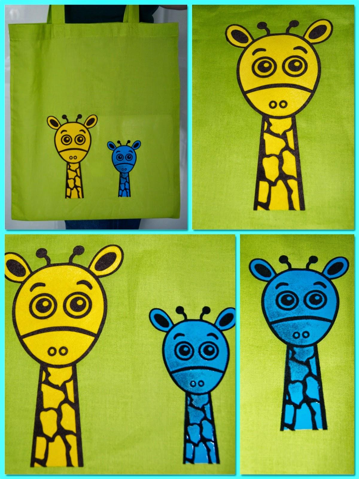 Tom die Giraffe bei RUMS
