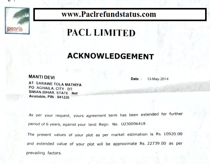 PACL Refund Status: Pacl Refund News 2019 Online And Pacl