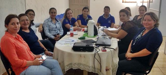 Iretama: Assistência Social realiza reunião com equipe