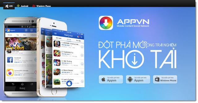 تطبيق appvn لتحميل التطبيقات المدفوعة على جوجل بلاي