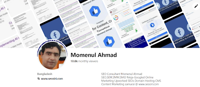 pinterest marketing profile of momenull ahmad , owner of the seosiri.com