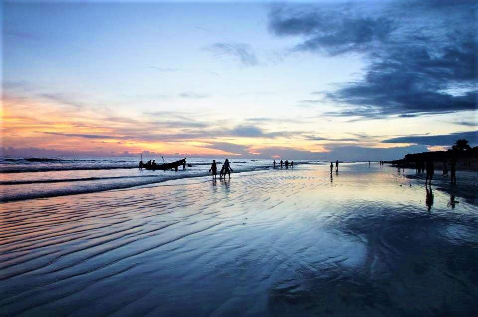 kuakata sea beach picture