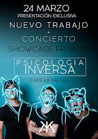 Concierto de Psicología Inversa en Café la Palma