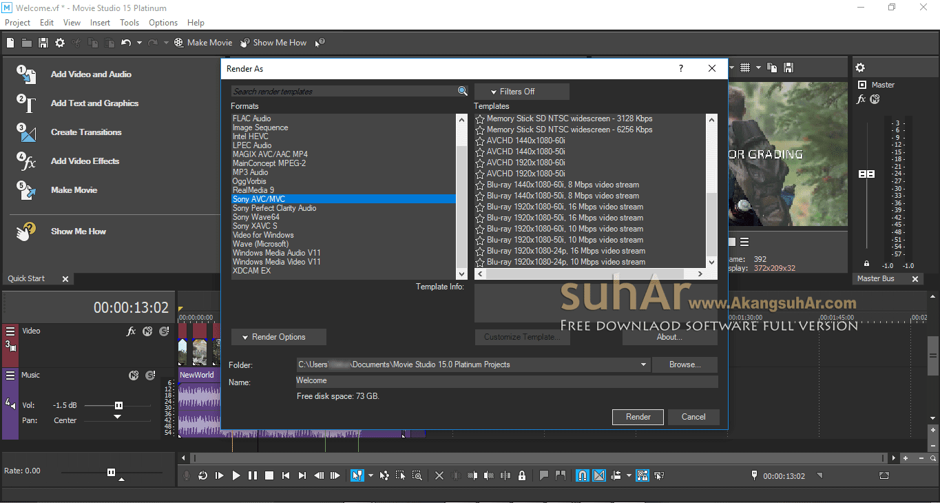 Download MAGIX VEGAS Movie Studio Platinum Full Patch, Download MAGIX VEGAS Movie Studio Platinum Cracked, MAGIX VEGAS Movie Studio Platinum Registration Key