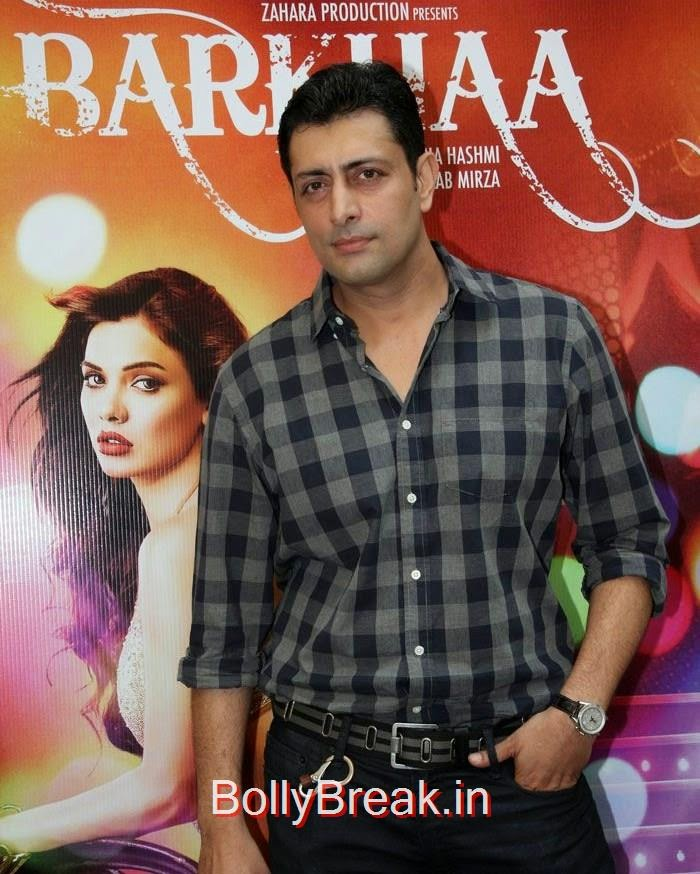 Priyanshu Chatterjee, Hot Pics of Sara Loren, Shweta Pandit At 'Barkhaa' Trailer Launch
