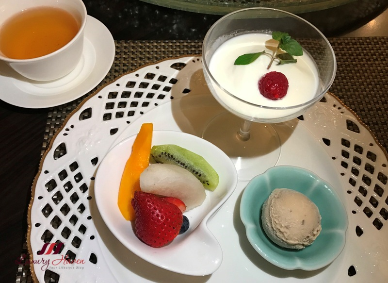 hilton tokyo bay dining review dynasty restaurant desserts