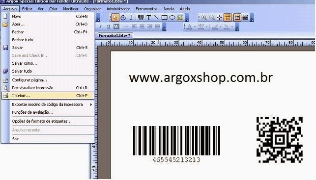 software argox os 214 plus