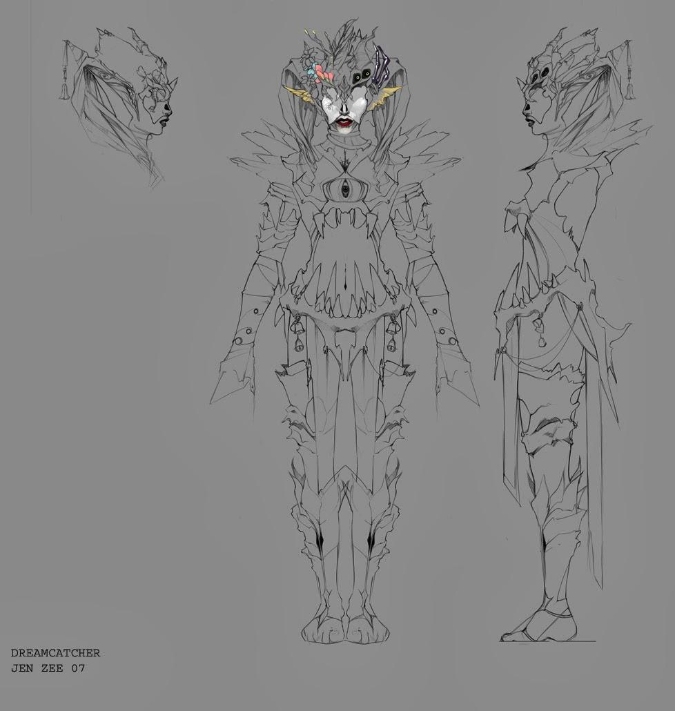 Unit 72 Drawing Concept Art for Computer Games | Donovan