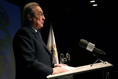Florentino Perez é o atual presidente do Real Madrid