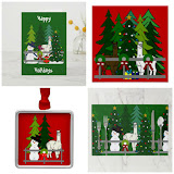 Alpacas Christmas Home Decor & Clothing Products