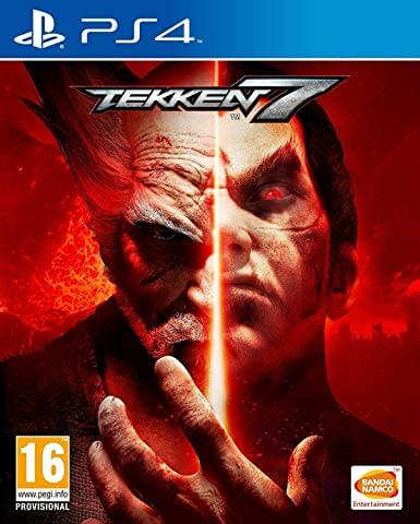 tekken 7 ps4 cover