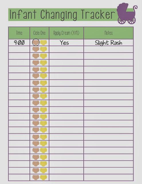 Guest Post {with Free Feeding Tracker Printables!} - Miranda Bee
