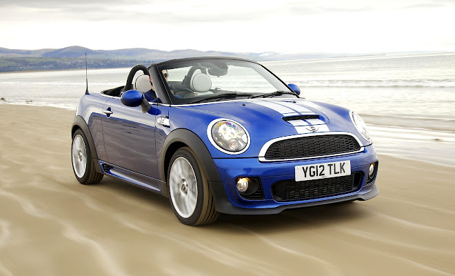 Mini Roadster front view