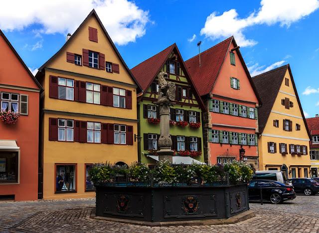 Dinkelsbühl na Alemanha