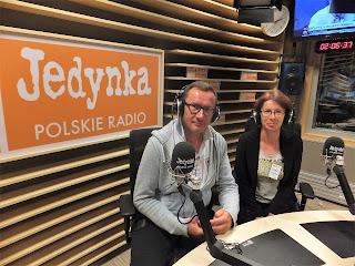 Dobry psycholog Warszawa o pasjach i podróżowaniu w radiowej Jedynce