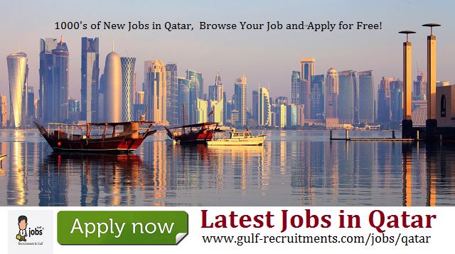 Latest Jobs in Qatar