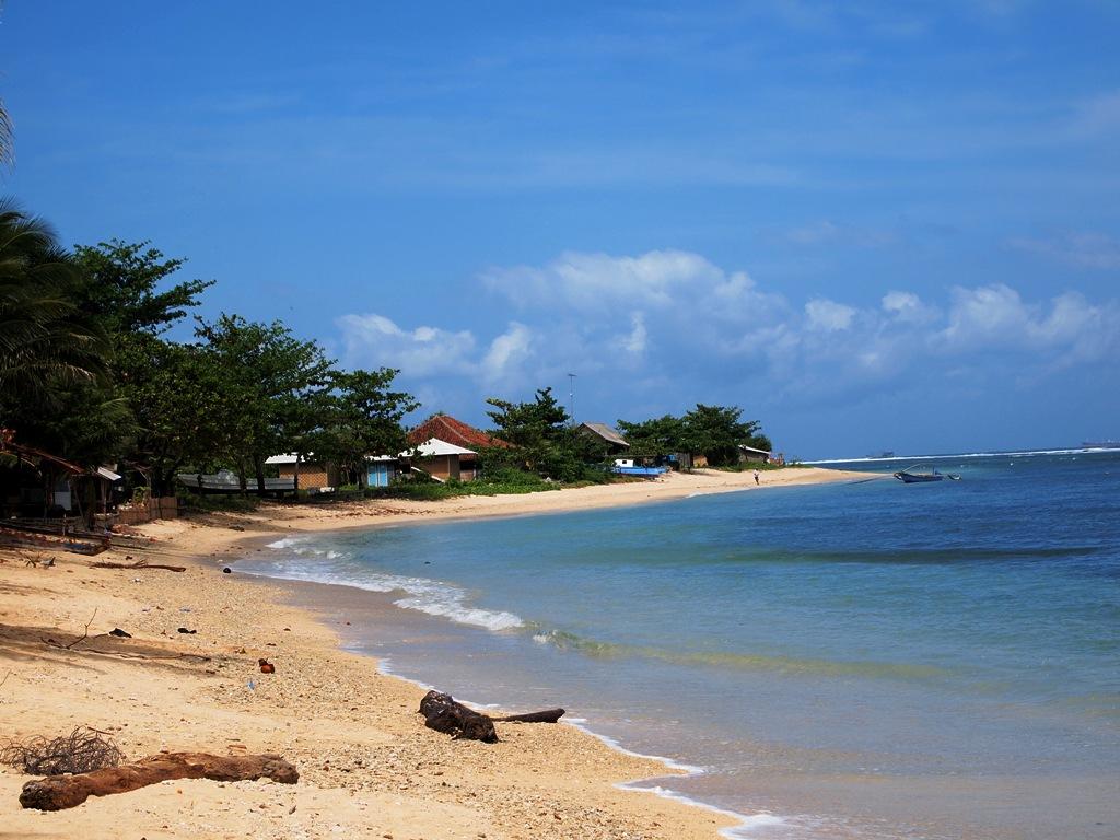 Pantai Ujung Genteng Curug Cikaso Surade Sukabumi Little