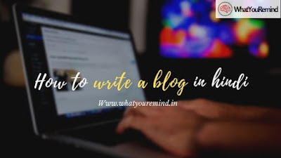 how-to-write-a-blog