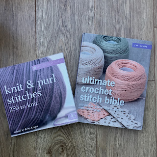 A knitting and crochet stitch directory