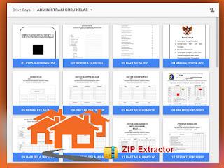 Download kumpulan Format Administrasi Kelas Terbaru