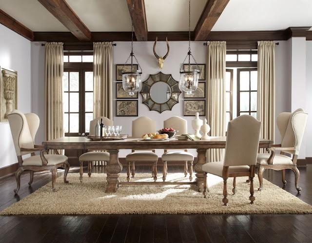 Desain Ruang Makan Mewah