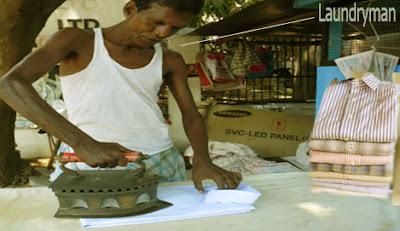 laundryman occupation